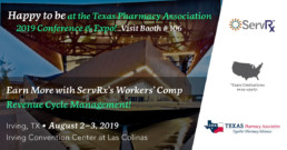 Happy to be at the Texas Pharmacy Association 2019 Conference & Expo! Booth #106